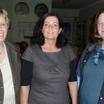 v.li.: Antje Bruns, Helga Rosenboom und Birgit Gerdes.